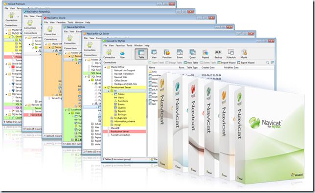 Navicat v10.0.x 数据库管理工具全系列产品注册机